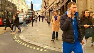 Walking London's Regent Street - Prestigious West End Shopping Street   England