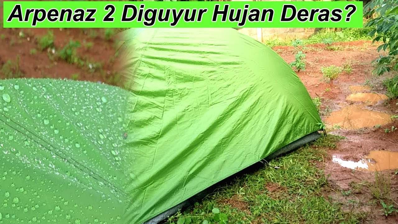 Review Tenda Quechua Arpenaz 2 Person
