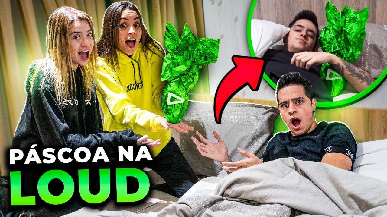 ACORDAMOS TODOS DA LOUD COM UMA SURPRESA DE PÁSCOA!!