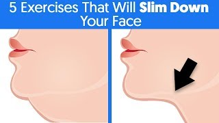 5 Of The Most Effective Exercises That Will Slim Down Your Face