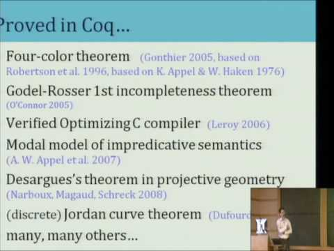 Introduction to the Coq Proof Assistant -  Andrew Appel
