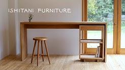 ISHITANI - Making an Oak Desk - mitered dovetail joint -