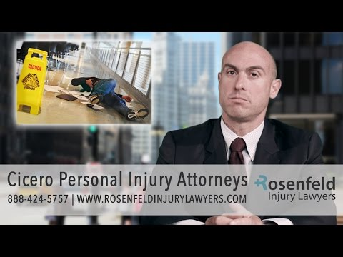 Cicero Personal Injury Lawyers, Get The $ You Deserve Now!