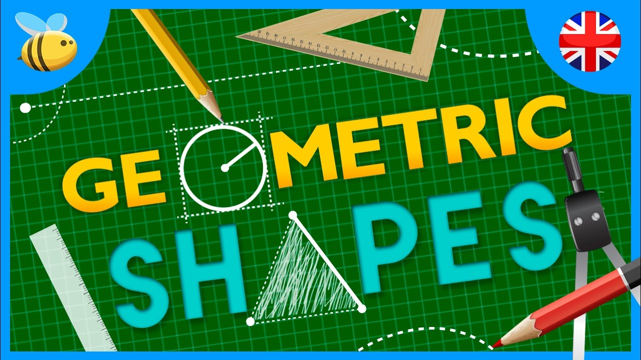 Learning Geometric Shapes | Educational Videos - YouTube