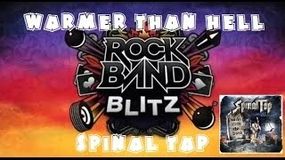 Spinal Tap - Warmer Than Hell - Rock Band Blitz Playthrough (5 Gold Stars)