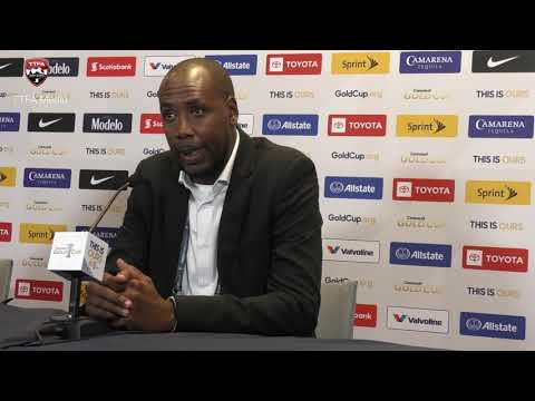 #GoldCup2019 Post Match Press Conference - Lawrence speaks after Panama loss