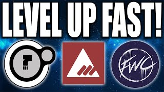 Taken King: HOW TO LEVEL UP FACTIONS FAST - Fastest Way to Rank Up Factions !!