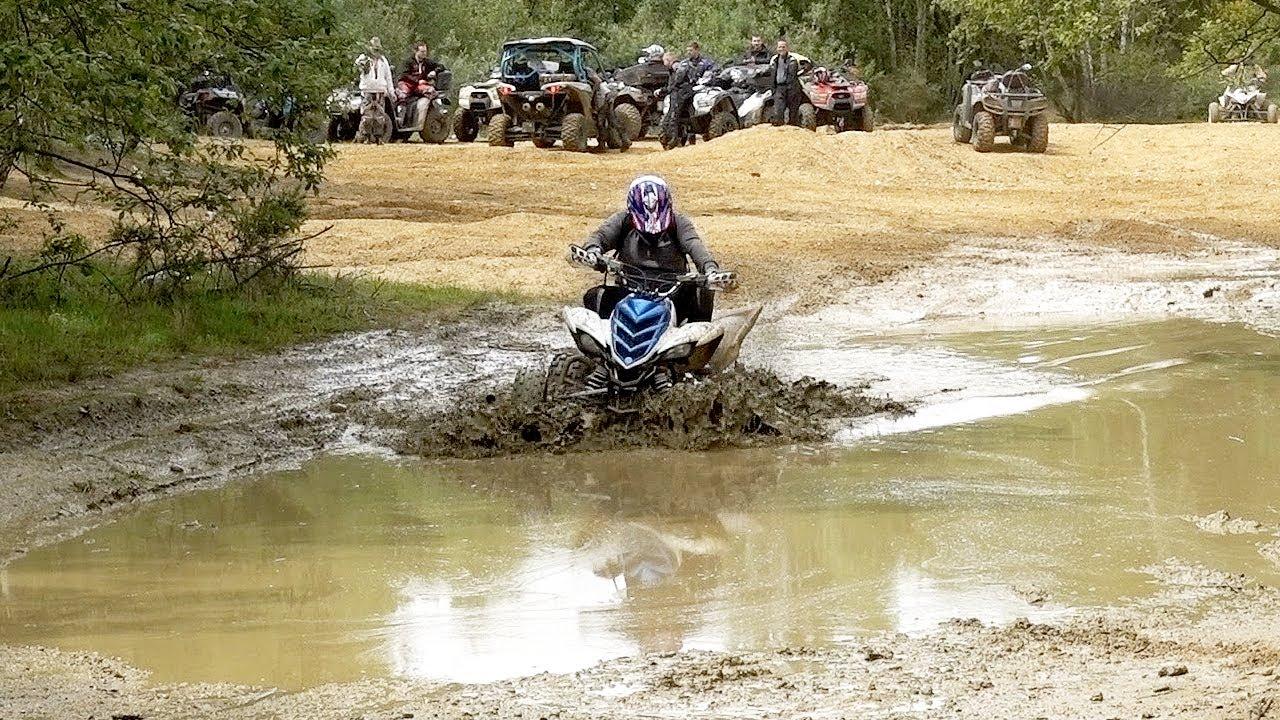 Fx atv rando quad avec les arracheurs youtube for 4x4 dans la boue
