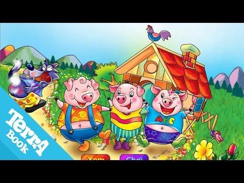 Truyện ngụ ngôn - Ba chú lợn con video - Terrabook