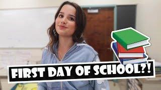 First Day Of School  WK 391.4 Bratayley