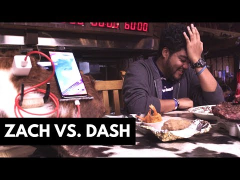 OnePlus 5T - Dash Charge Steak Challenge!