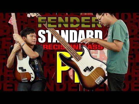 Fender Standard Precision Bass PF l  เบส Fender รุ่นมาตรฐานราคาจับต้องได้