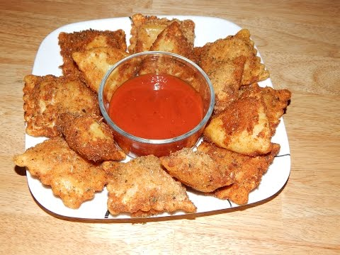 How To Make Fried Ravioli – Toasted Ravioli Recipe