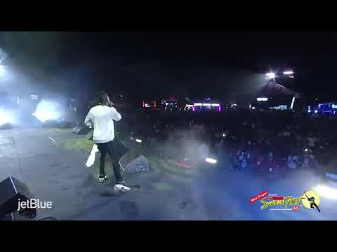 Watch StoneBwoy's performance at reggae sumfest world clash 2018