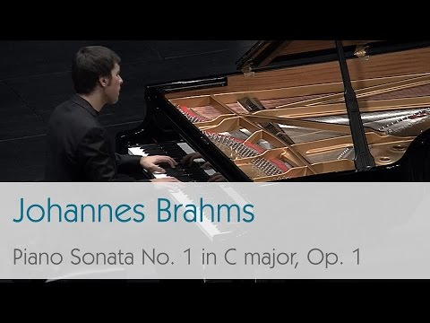 Johannes Brahms - Piano Sonata No.1 in C major, Op. 1 - Mark Taratushkin