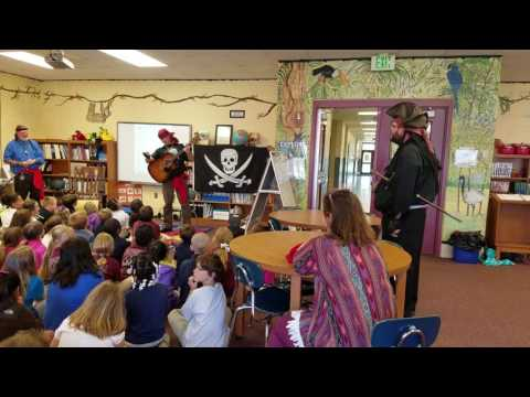 Captain No-Beard Singing at Silverhill Elementary