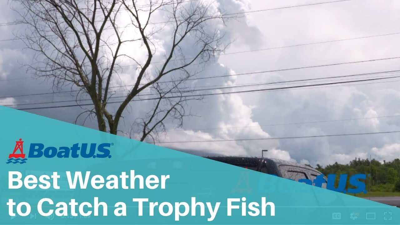 The best weather to catch a trophy fish boatus youtube for Best weather for fishing