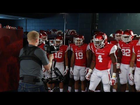 2014 Houston Football: Intro Video Behind The Scenes