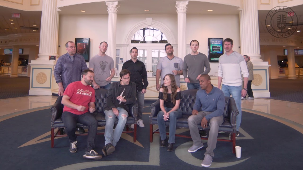 """Download Straight No Chaser Featuring  Laura Osnes – """"Make You Feel My Love"""" – Green Room Sessions Episode 4"""