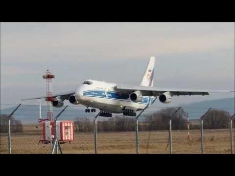 Antonov An-124 Ruslan in Poprad-Tatry Airport (LZTT), 27.12.2013