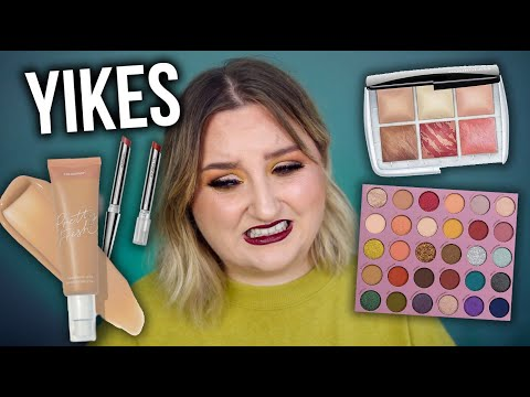YIKES... FULL FACE FIRST IMPRESSIONS TESTING NEW MAKEUP