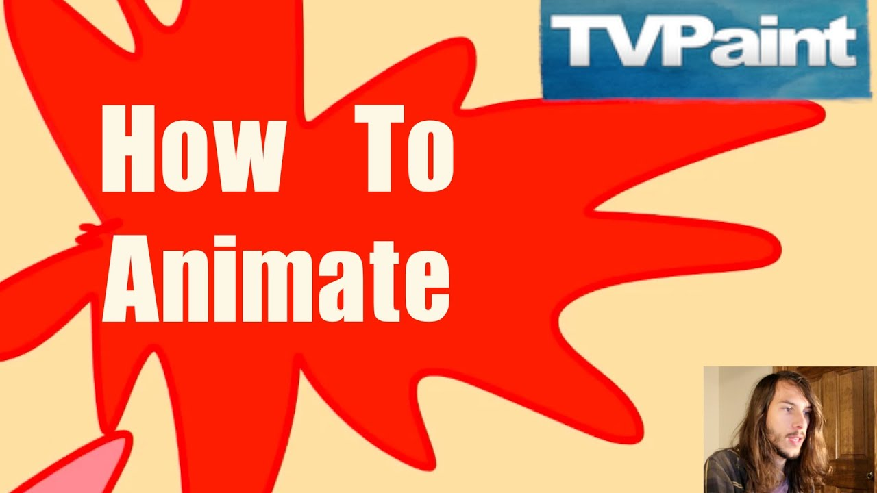 Tvpaint Tutorial  How To Animate (for Beginners)