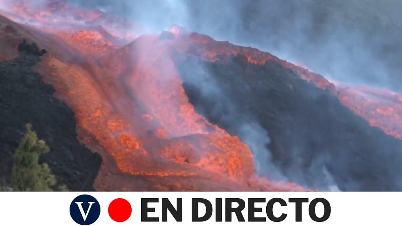 Download DIRECTO: Las coladas del volcán de La Palma siguen avanzando