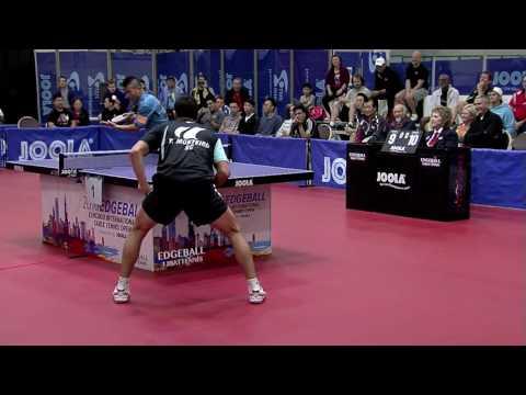 2016 Edgeball Open Semifinal Chen Weixing Thiago Monteiro