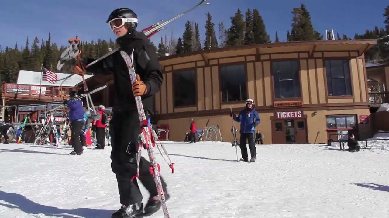 eldora mountain ski resort colorado - youtube