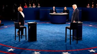 Клинтон vs Трамп. Последние дебаты