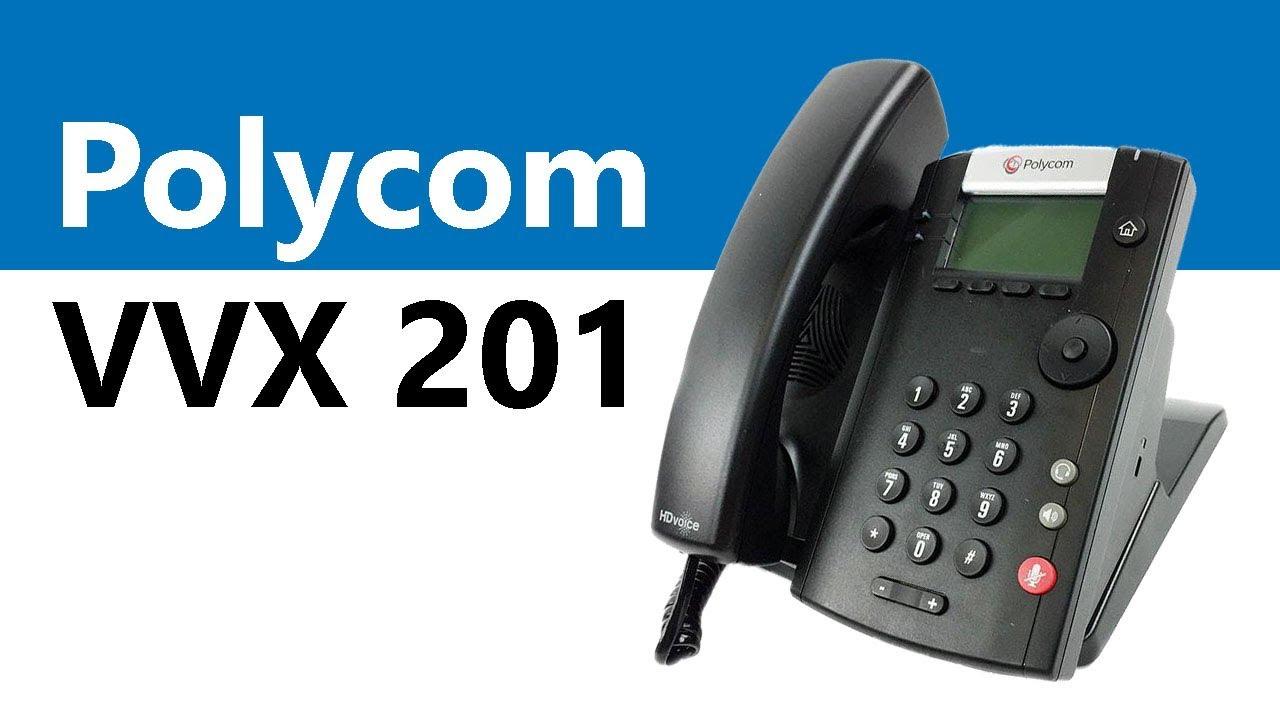 Vvx 201 polycom