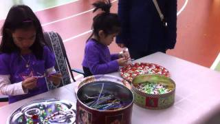 Children Christmas Party @ Cfb Borden #4 - The Arts & Crafts Table