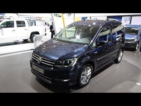 2019 Volkswagen Caddy Highline - Exterior and Interior - IAA Hannover 2018