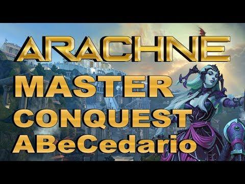 SMITE! Arachne, La araña salvaje! Master Conquest Abecedario S4 #10