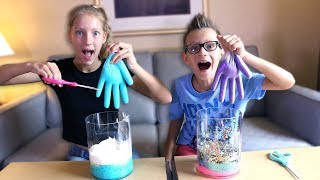 MYSTERY BOX of SLIME GLOVES CHALLENGE!!! thumbnail