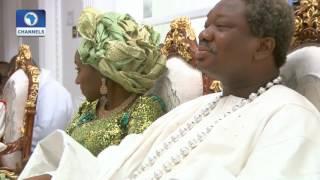 Metrofile: Olu Okeowo & Family In Joyful End Of Year Celebration