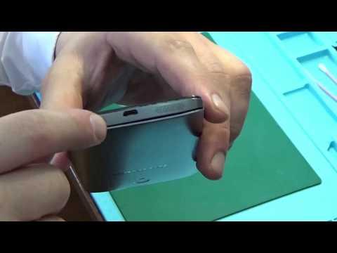 Как снять крышку Lenovo S860