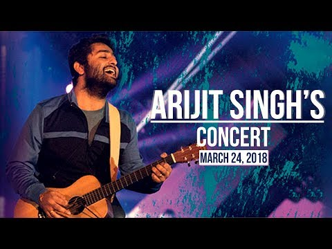 Arijit Singh's Concert: 24th March, 2018 | Pinkvilla | First Look