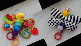 Детская мягкая игрушка - Бабочка. Lamaze (Aliexpress)
