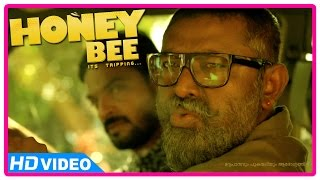 Honey Bee Malayalam Movie | Scenes | Lal Search Asif Ali and Bhavana in Archana Kavi's Home