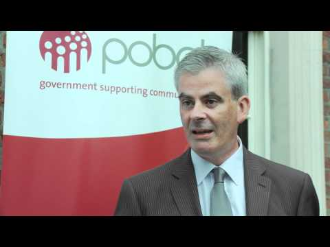 Denis Leamy, Pobal CEO at OECD LEED Dublin conference October 13th & 14th 2011