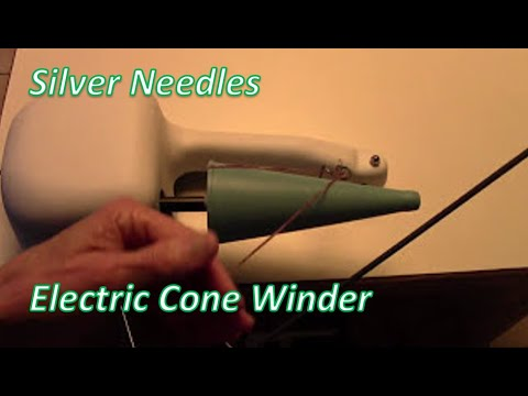 Silver Needles Electric Cone Winder