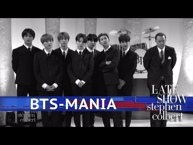 BTS Channels The Beatles On Colbert Show | GRAMMY com