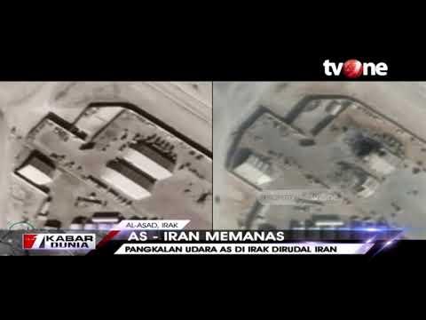 Penampakan Pangkalan Militer Amerika Di Irak Usai Dihujani Rudal Iran