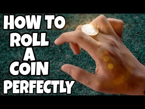 How To PERFECTLY Roll A Coin Across Your Knuckles!!!