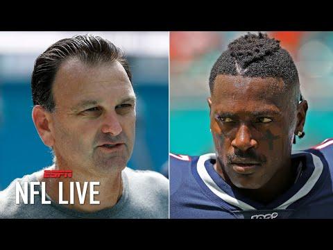 Antonio Brown's agent Drew Rosenhaus terminates their relationship   NFL Live