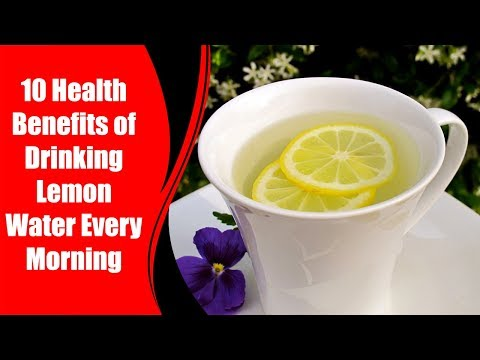 10 Health Benefits of Drinking Lemon Water Every Morning | Love Healthy Life
