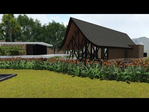 Sketchup Villa Animation Render With Lumion 6