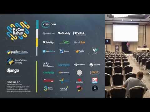 Image from PyCon Balkan Belgrade 2018 - Day 3 - LIVE STREAM