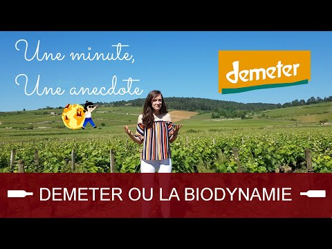 Une minute, une anecdote - Demeter ou la biodynamie